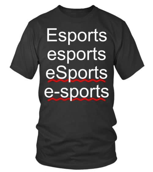 Esports spelling